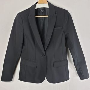 Apt. 9 Black Lined Blazer W/Faux Pockets Size 10